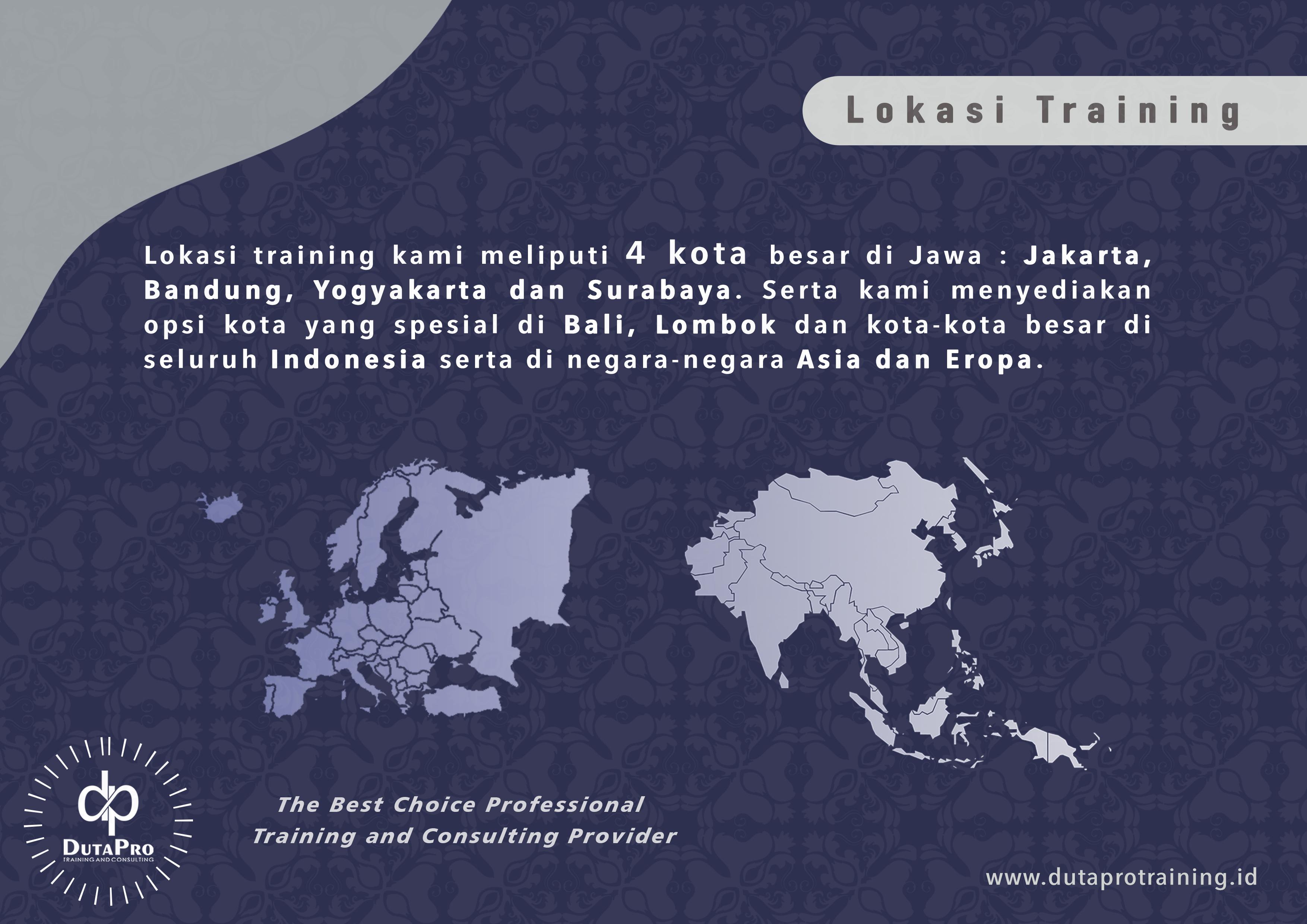 Lokasi-Training Duta Pro