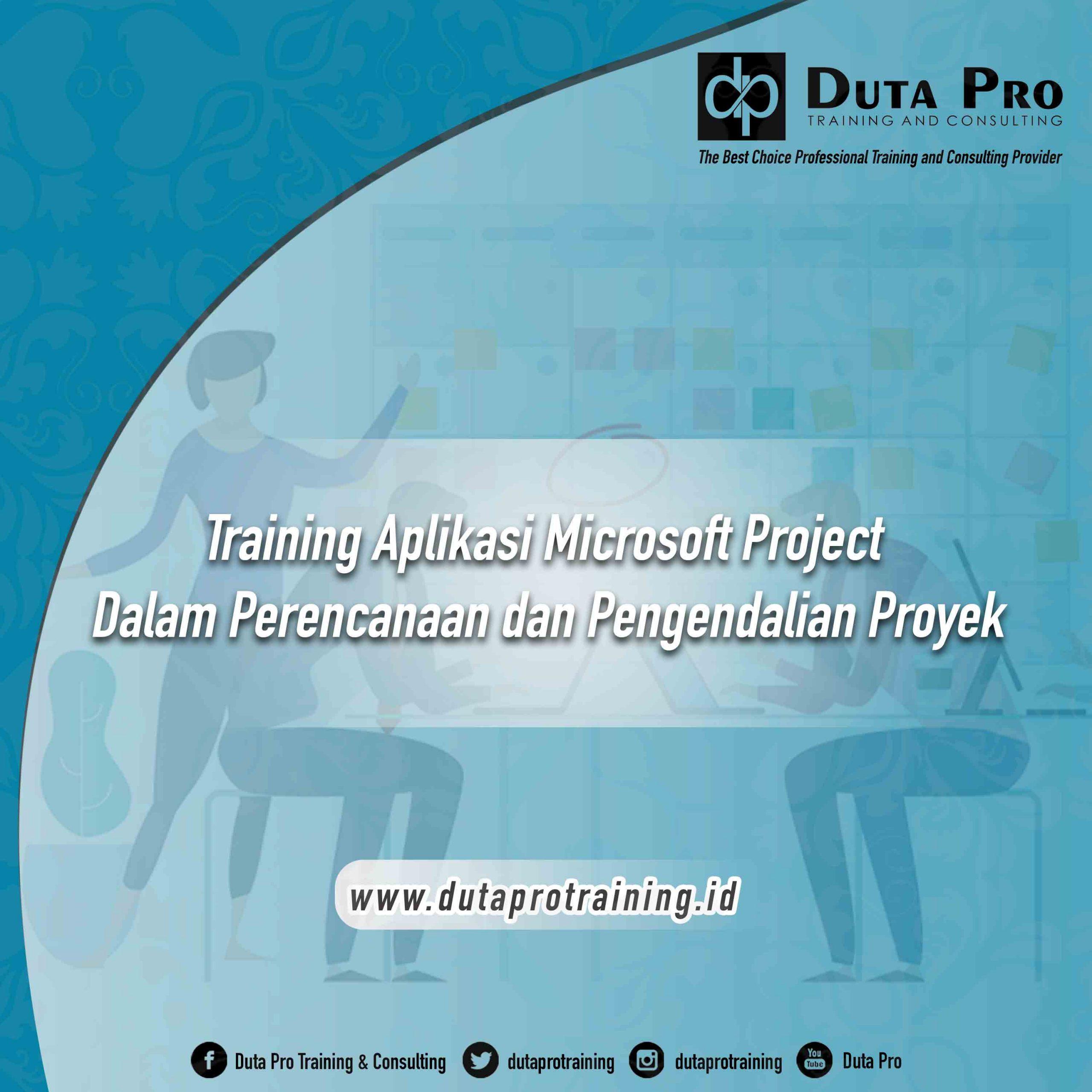 Aplikasi Microsoft Project Dalam Perencanaan dan Pengendalian Proyek