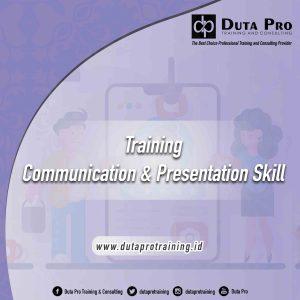 Training  Communication & Presentation Skill  jogja jakarta bandung