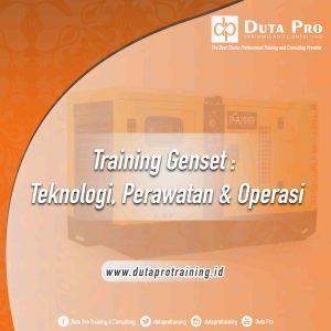Training Genset Jakarta Bandung