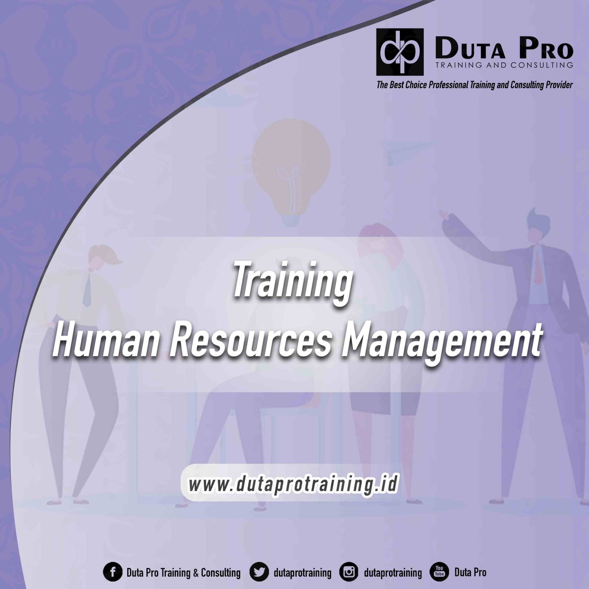 Training Human Resources Management