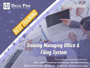 Training Managing Office & Filing System Best Training Informasi Pelatihan Duta Pro Training Consulting di Jakarta Bandung Jogja Bali Surabaya Lombok