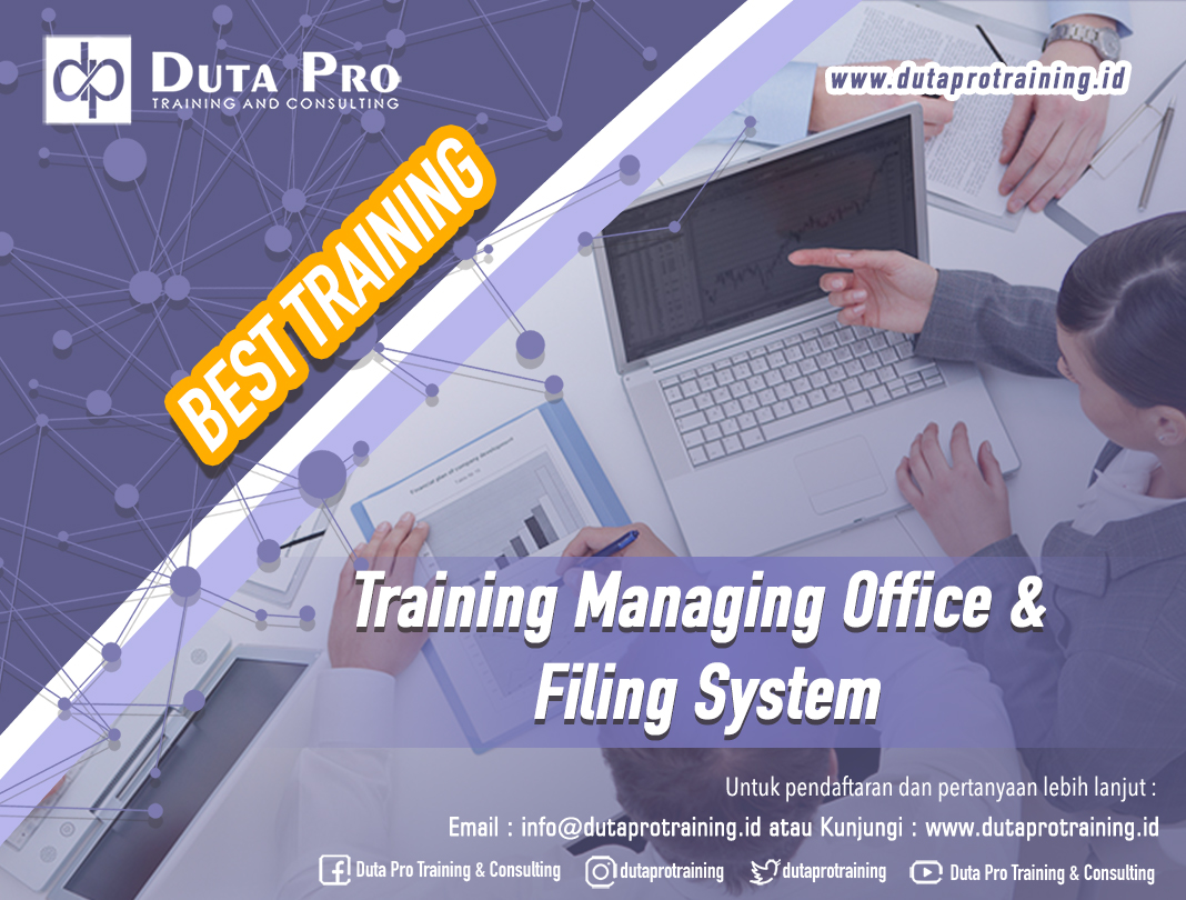 Training Managing Office & Filing System