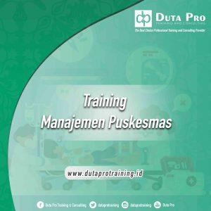 Training Manajemen Puskesmas Jogja