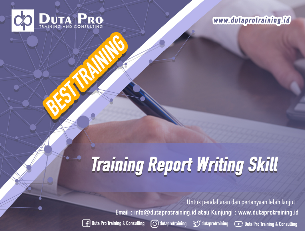 Training Report Writing Skill