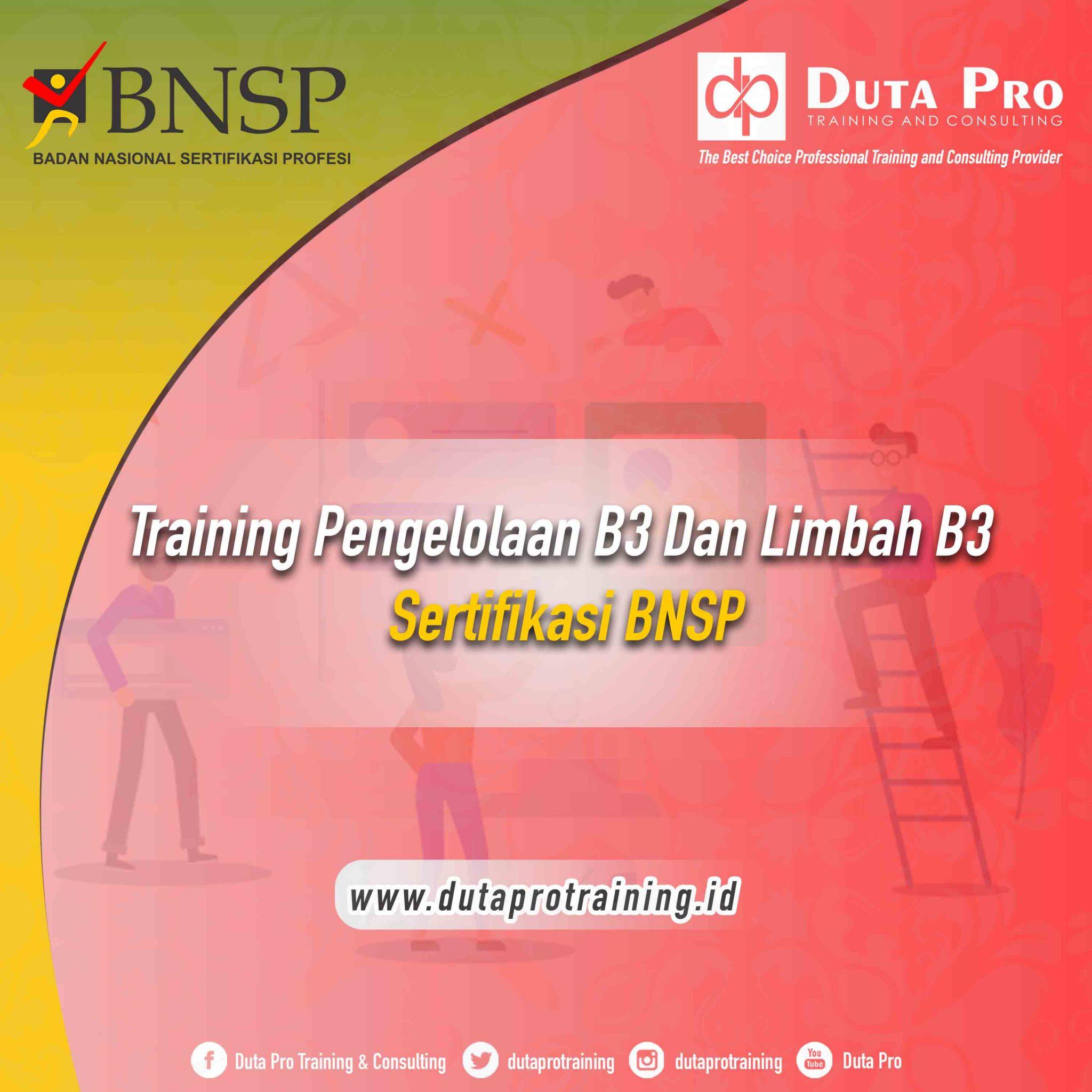 Training Pengelolaan B3 dan Limbah B3