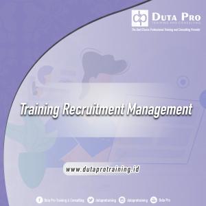 Training Recruitment Management jogja jakarta bandung bali