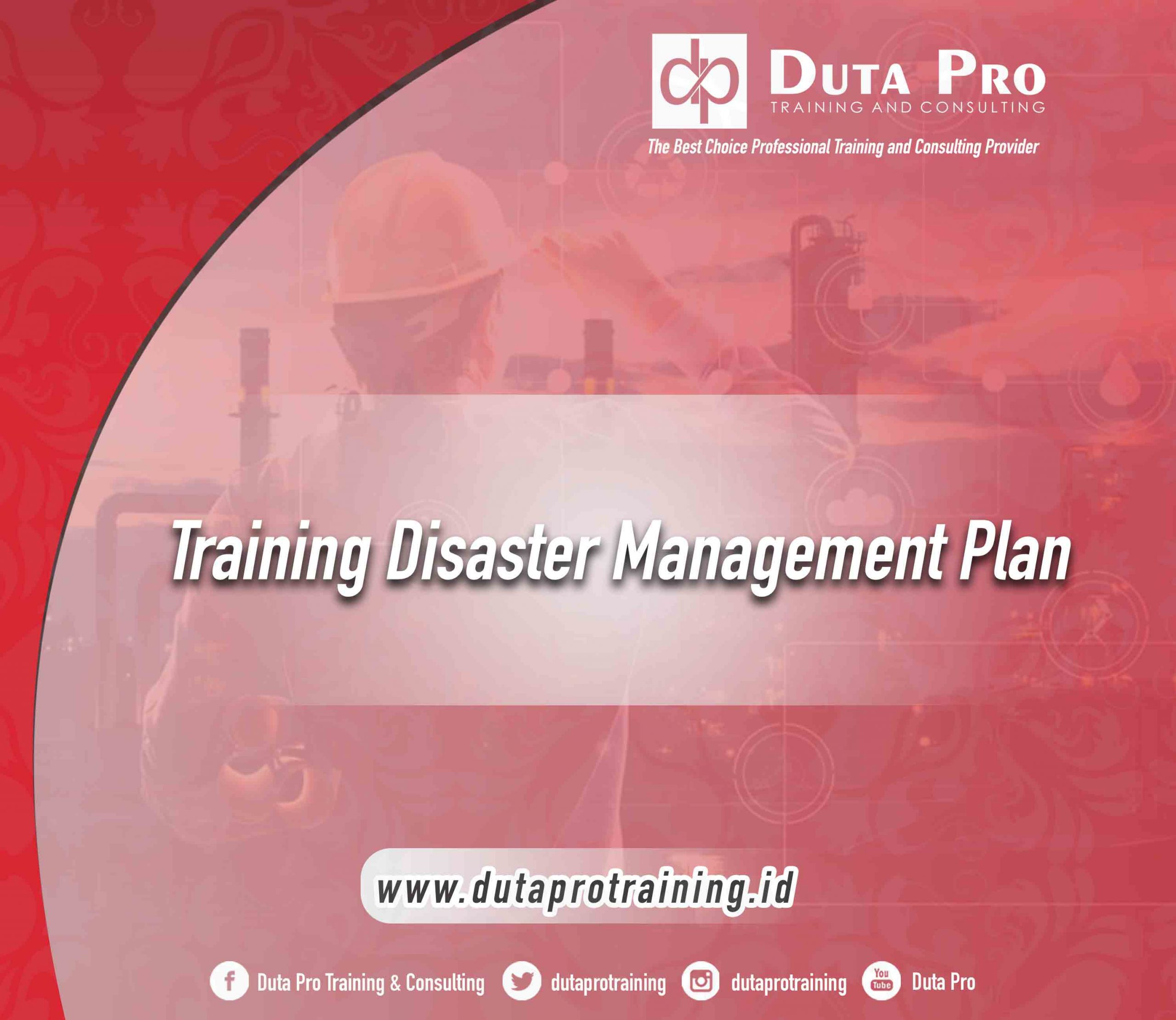 Training Disaster Management Plan