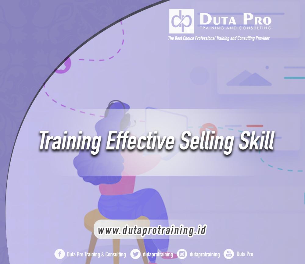 Training Effective Selling Skill
