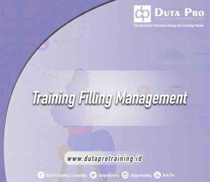 Training Filling Management bali bandung jakarta jogja
