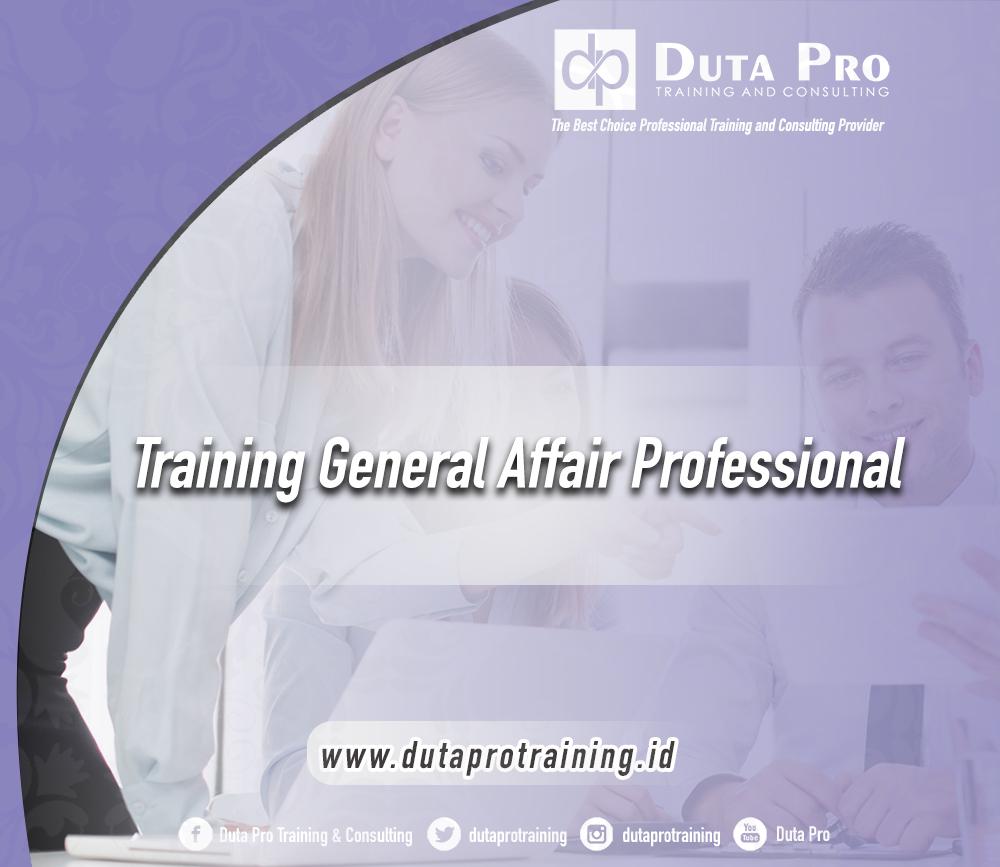 Training General Affair Professional