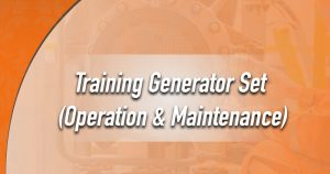 Training Generator Set : Operation & Maintenance