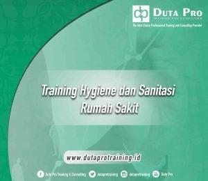 Training Hygiene dan Sanitasi Rumah Sakit jogja bali