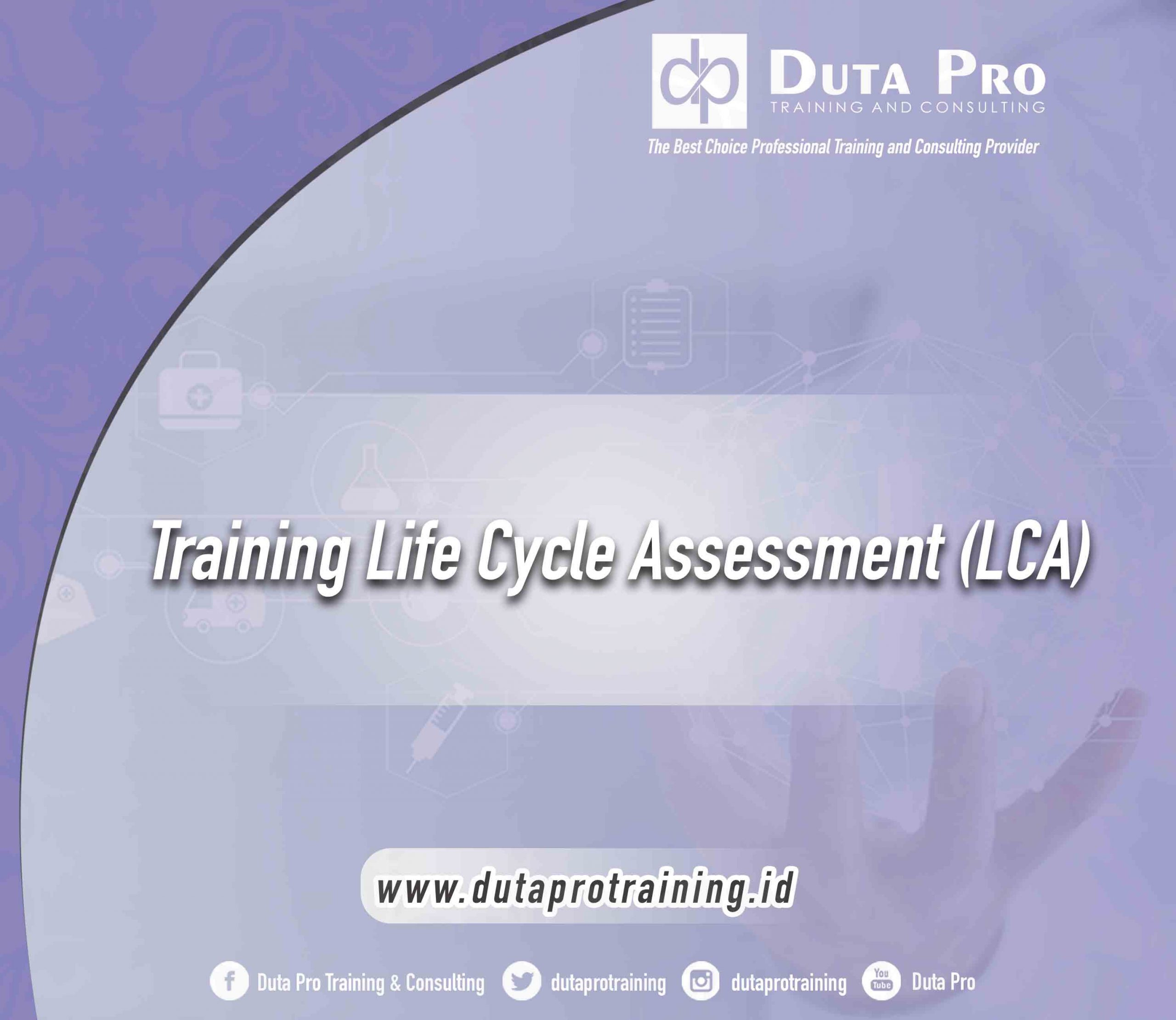 Training Life Cycle Assessment (LCA)