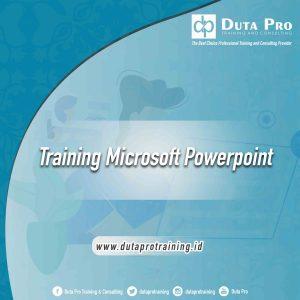 Training Microsoft Powerpoint jogja jakarta