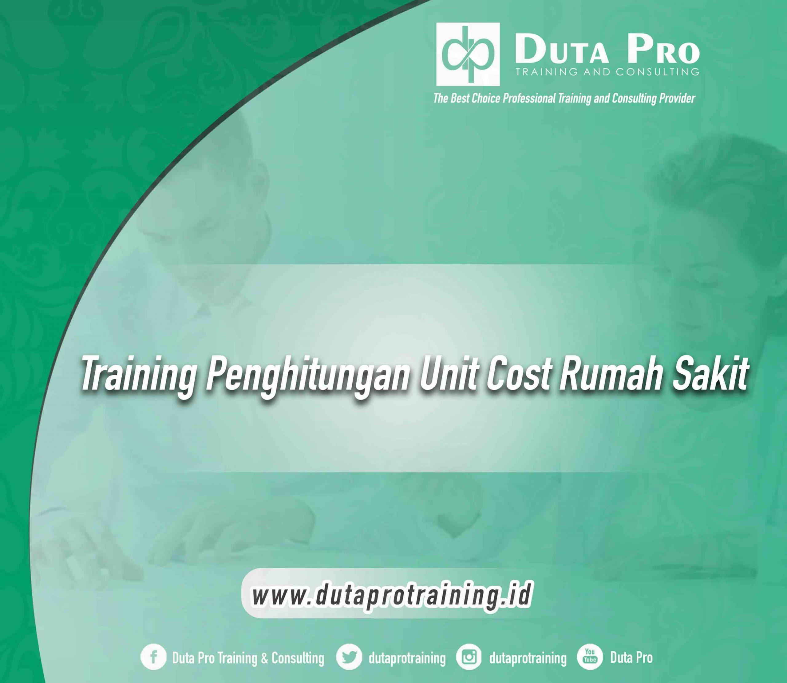 Training Penghitungan Unit Cost Rumah Sakit