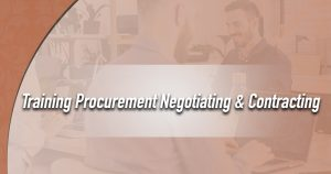 Training Procurement Negotiating & Contracting