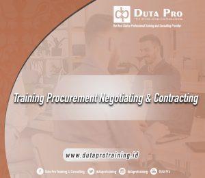 Training Procurement Negotiating & Contracting