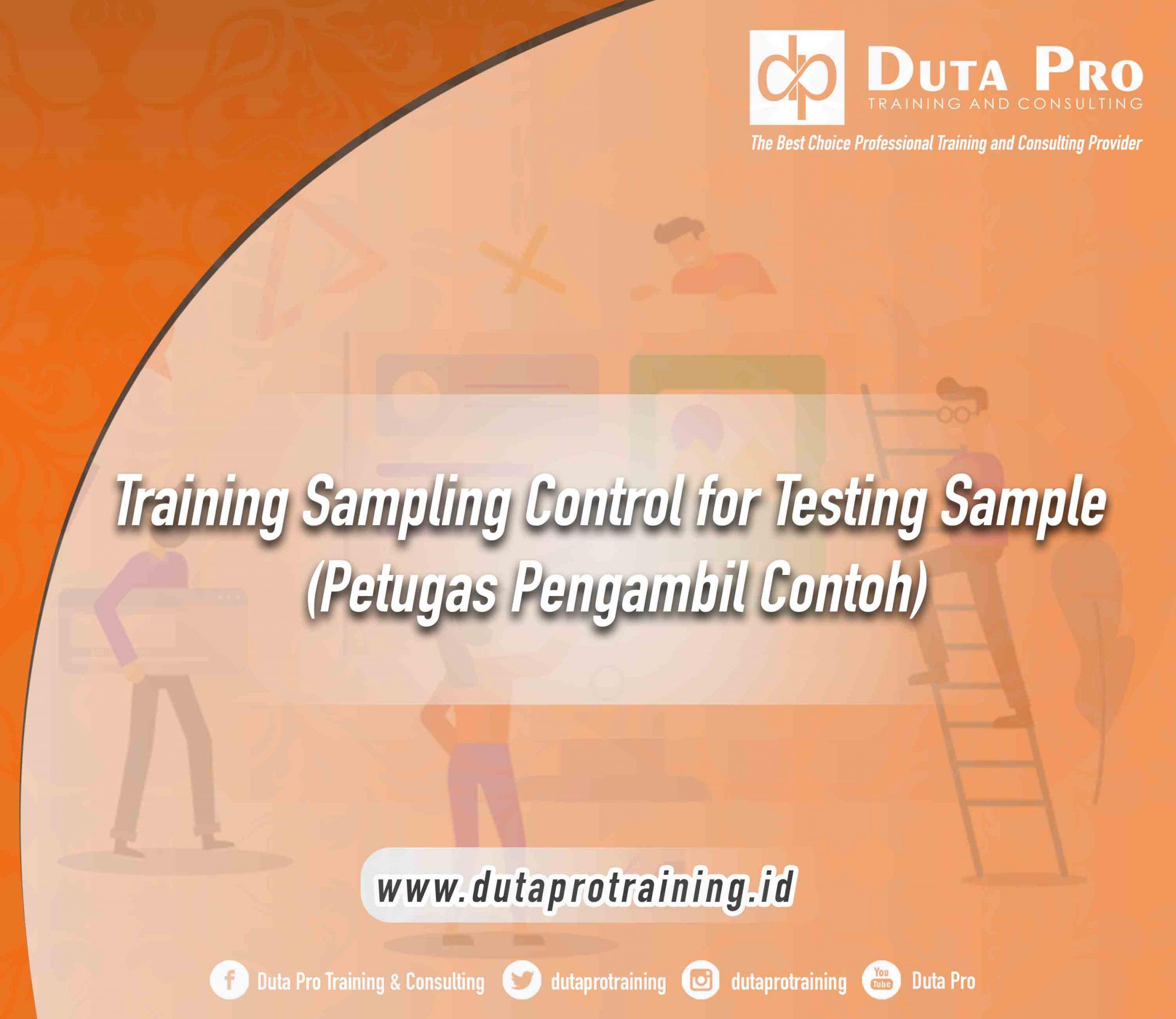 Pelatihan Sampling Control for Testing Sample