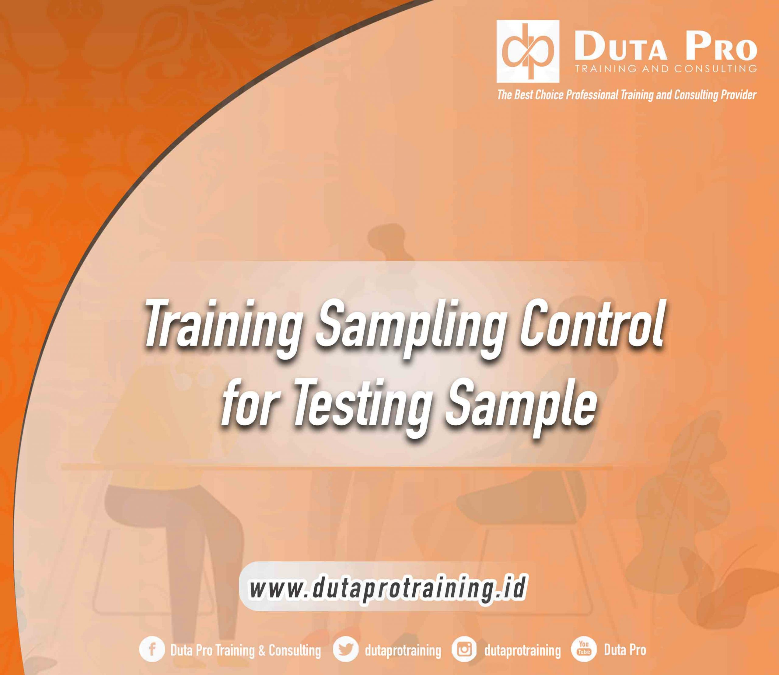 Training Sampling Control for Testing Sample
