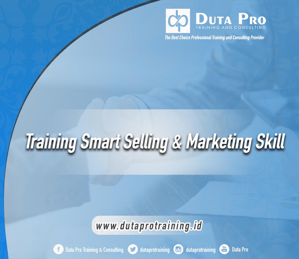 Training Smart Selling & Marketing Skill