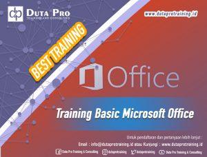Pelatihan Basic Microsoft Office Best Training Informasi Pelatihan Duta Pro Training Consulting di Jakarta Bandung Jogja Bali Surabaya Lombok
