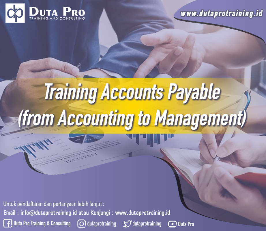 Training Accounts Payable – from Accounting to Management