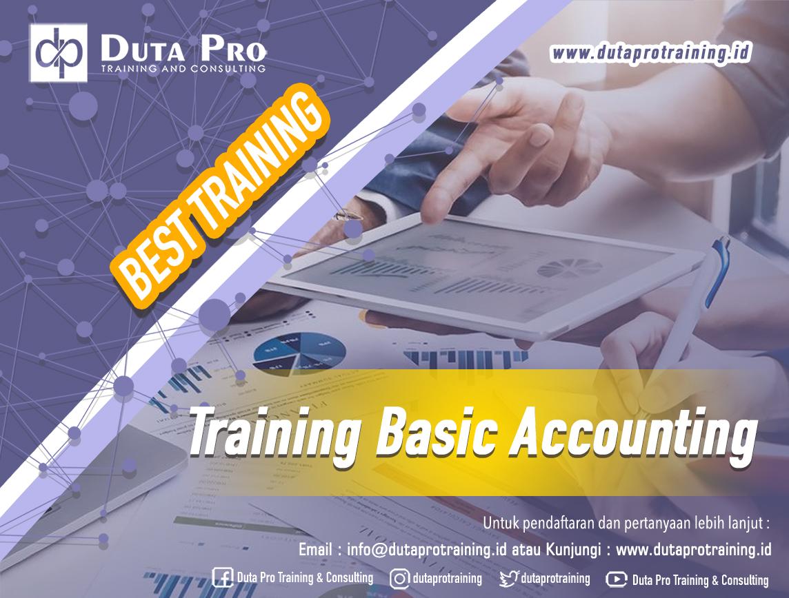 Training Basic Accounting Best Training Duta Pro Training Consulting di Jakarta Bandung Jogja Bali Surabaya Lombok
