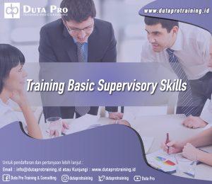 Training Basic Supervisory Skills Image Training Duta Pro Training Jakarta Bandung Jogja Bali Surabaya Lombok