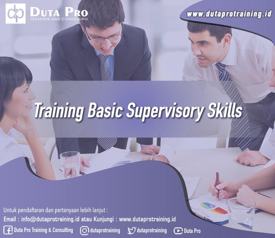 Training Basic Supervisory Skills