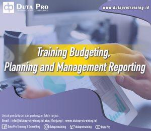 Training Budgeting, Planning and Management Reporting Image Training Duta Pro Training Jakarta Bandung Jogja Bali Surabaya Lombok