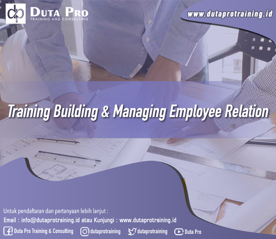Training Building & Managing Employee Relation