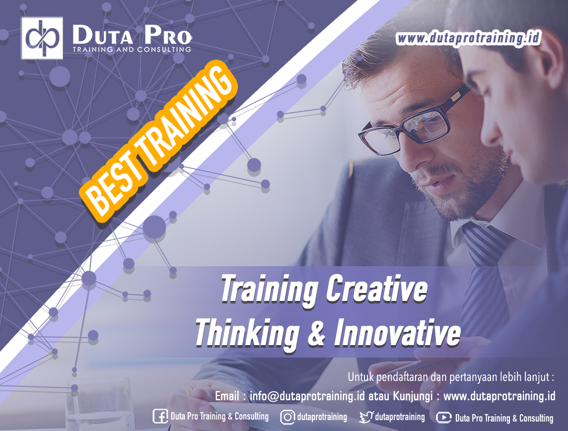 Training Creative Thinking & Innovative