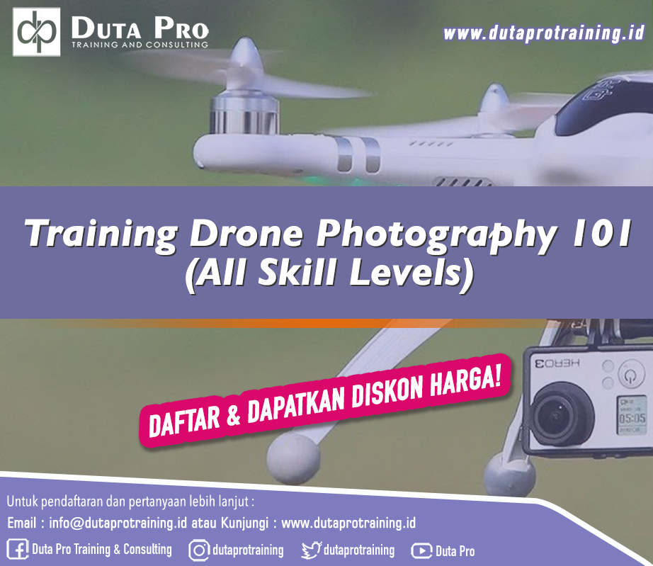 Training Drone Photography 101 (All Skill Levels)