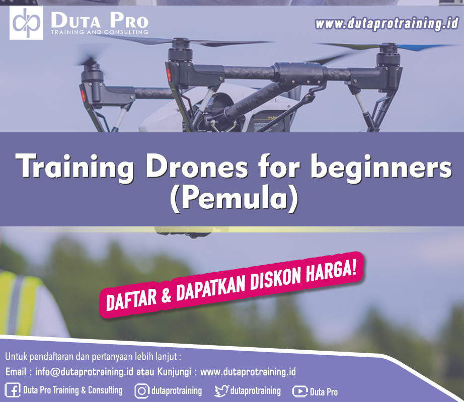 Training Drones for beginners (Pemula)