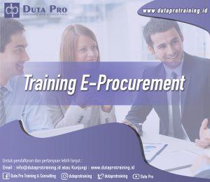 Training E-Procurement Jogja
