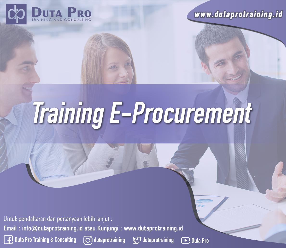 Training E-Procurement