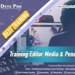 Training Editor Media dan Penerbit Best Training Informasi Pelatihan Duta Pro Training Consulting di Jakarta Bandung Jogja Bali Surabaya Lombok