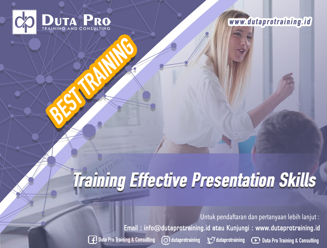 Training Effective Presentation Skills