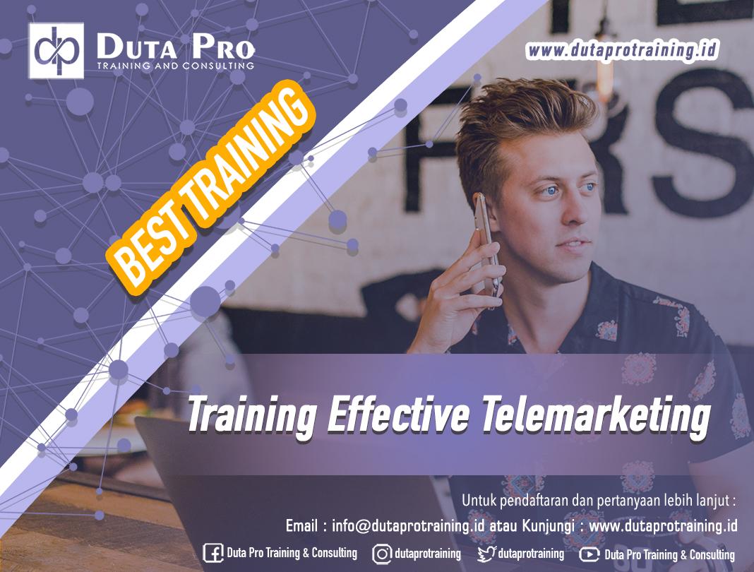 Training Effective Telemarketing