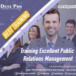 Training Excellent Public Relations Management Best Training Informasi Pelatihan Duta Pro Training Consulting di Jakarta Bandung Jogja Bali Surabaya Lombok