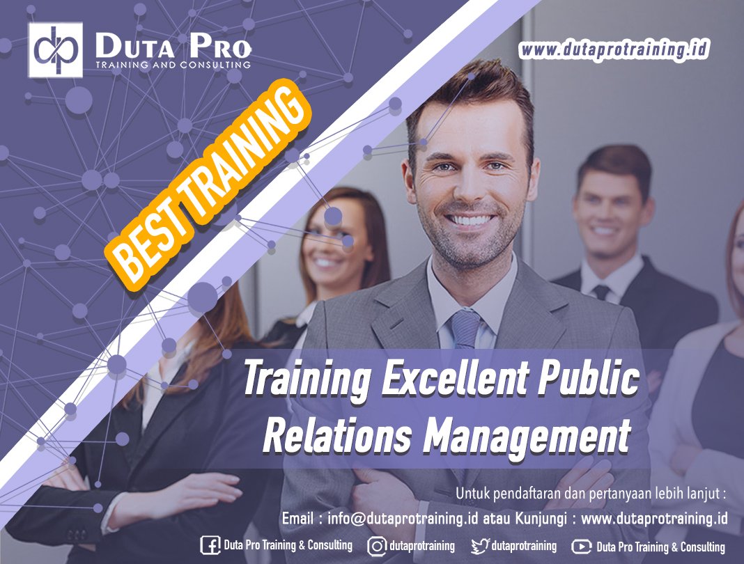 Training Excellent Public Relations Management