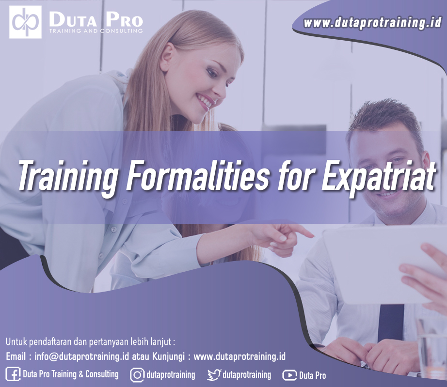 Training Formalities for Expatriat