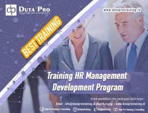 Training HR Management Development Program Best Training Informasi Pelatihan Duta Pro Training Consulting di Jakarta Bandung Jogja Bali Surabaya Lombok