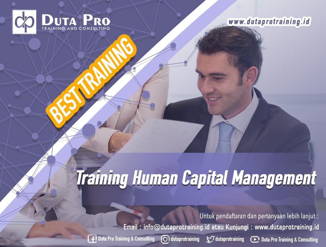 Training Human Capital Management