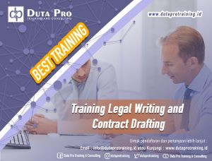 Training Legal Writing and Contract Drafting Best Training Informasi Pelatihan Duta Pro Training Consulting di Jakarta Bandung Jogja Bali Surabaya Lombok