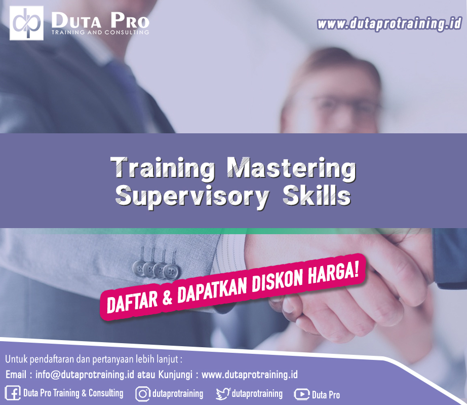 Training Mastering Supervisory Skills