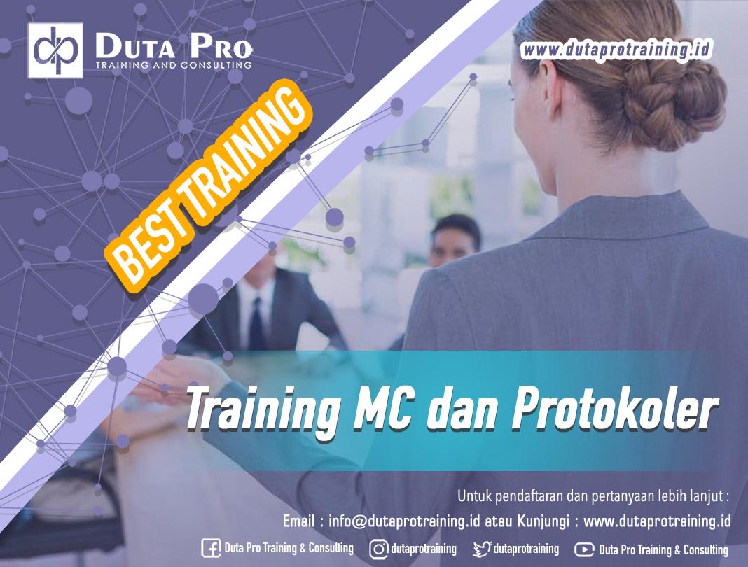 Training MC dan Protokoler