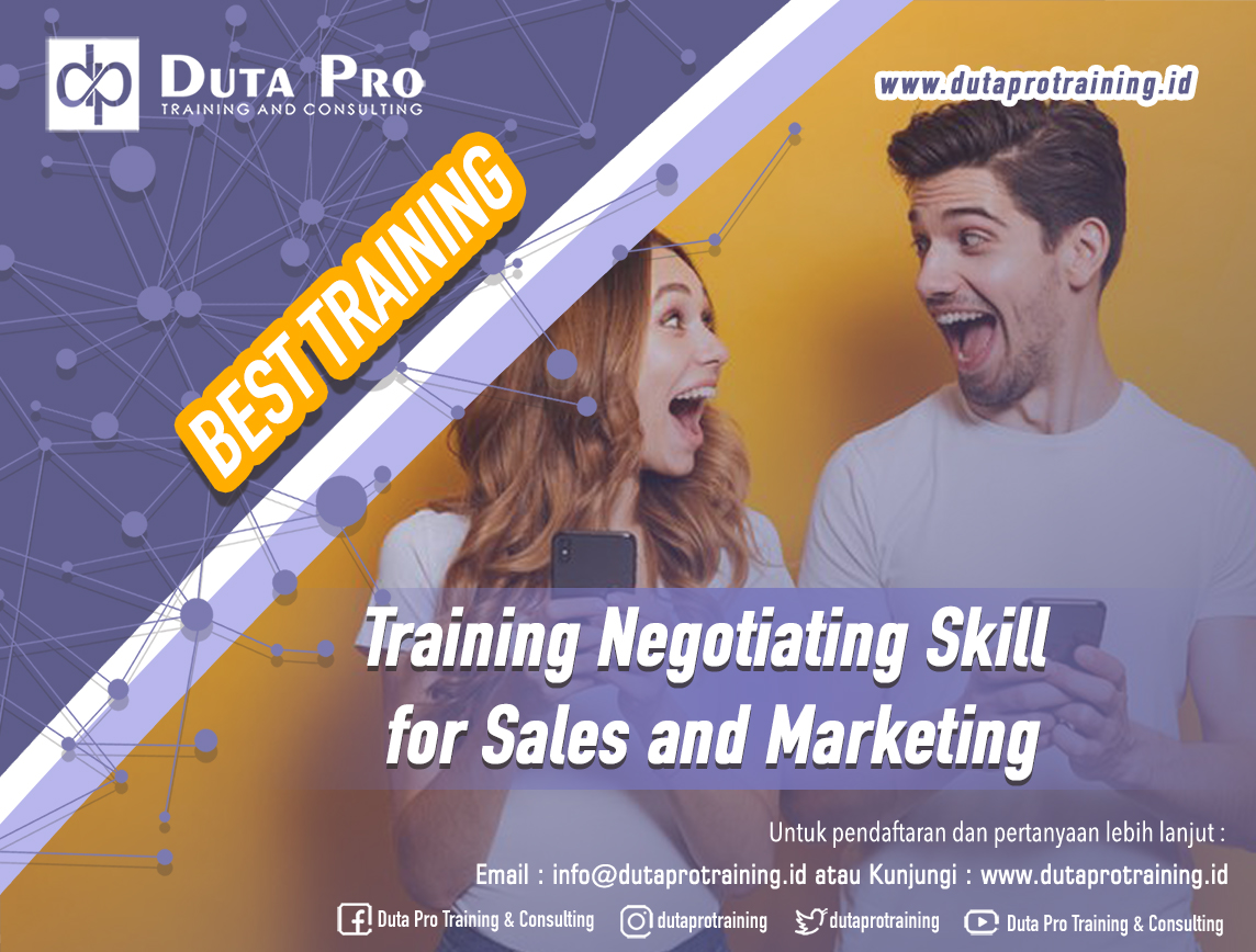 Training Negotiating Skill for Sales and Marketing