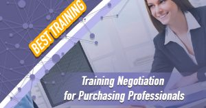 Training Negotiation for Purchasing Professionals
